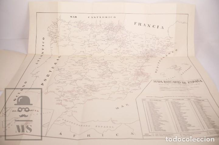 Mapas contemporáneos: Mapa Bancario de España - Ferga, Madrid - Años 40-50 - Foto 3 - 168672096