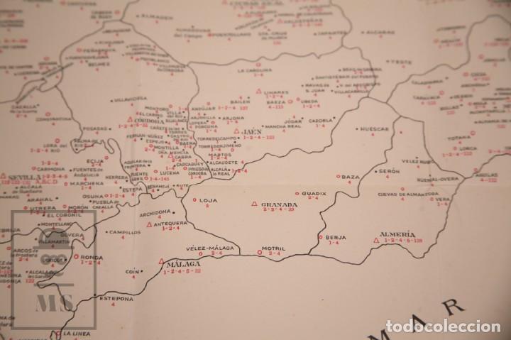 Mapas contemporáneos: Mapa Bancario de España - Ferga, Madrid - Años 40-50 - Foto 7 - 168672096
