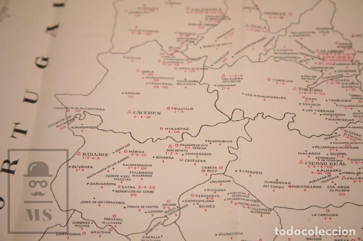 Mapas contemporáneos: Mapa Bancario de España - Ferga, Madrid - Años 40-50 - Foto 8 - 168672096