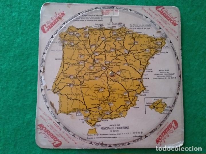 Disco Giratorio Y Kilometrico De Las Principale Comprar Mapas