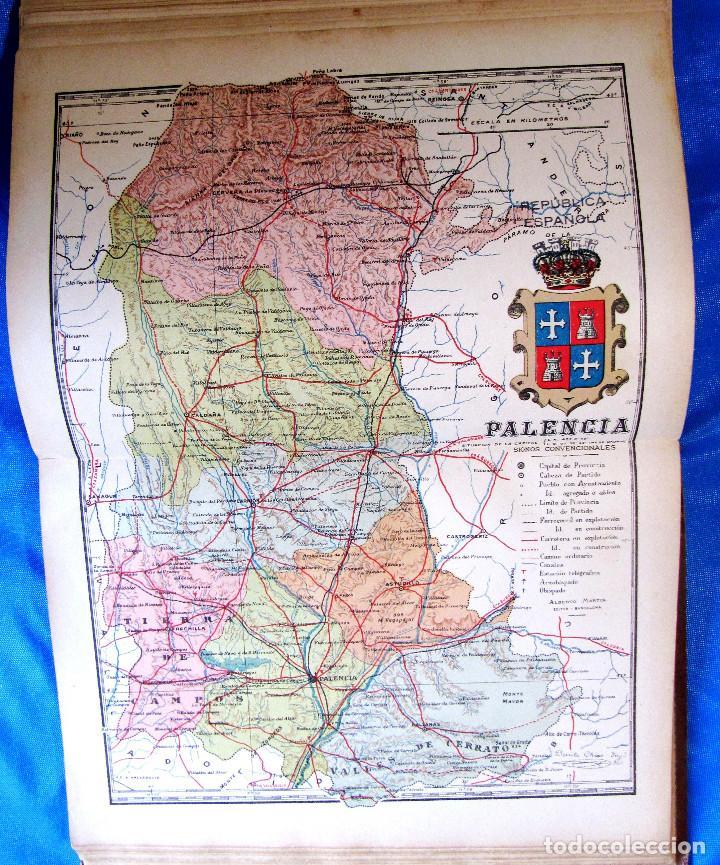 Mapa De La Provincia De Palencia Por Benito Ch Comprar Mapas