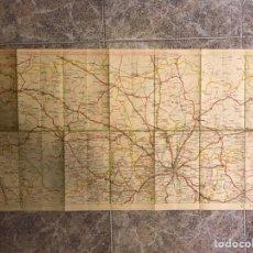 Mapas contemporáneos: ESPAÑA. MAPA POLÍTICO NO.8, DE MADRID, TOLEDO, CUENCA,TERUEL, GUADALAJARA. MEDIDAS: 93 X 48 CM.. Lote 169668598
