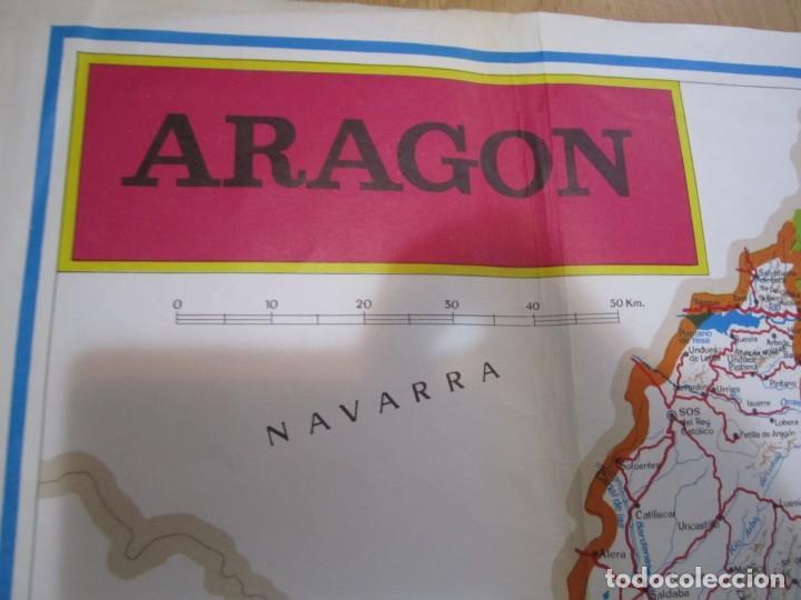 Mapas contemporáneos: mapa de aragon - Foto 2 - 170548096
