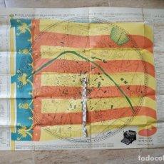 Mapas contemporáneos: PLANO INDICADOR DE LA CIUDAD DE VALENCIA PRIMERA EDICIÓN 1930 RARO. Lote 172085003