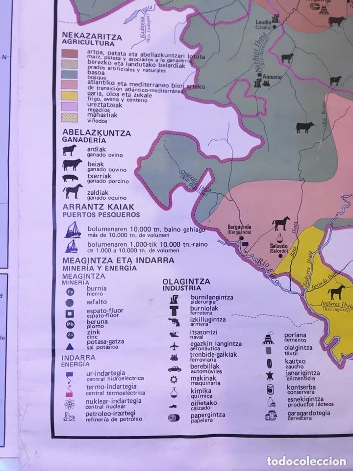 Mapa Politico Pais Vasco Y Navarra.Mapa Educativo Euskadi Politico Y Fisico Mapa Escolar Doble Pais Vasco Y Navarra Edigol 1981 Colegio