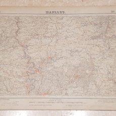Mapas contemporáneos: MAPA MILITAR MANLLEU 294 DEL INSTITUTO GEOGRÁFICO Y CATASTRAL AMPLIADO 2A. EDICIÓN DEL AÑO 1951. Lote 172890270