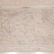 Mapas contemporáneos: MAPA MILITAR BAÑOLAS 295 DEL INSTITUTO GEOGRÁFICO Y CATASTRAL AMPLIADO 2A. EDICIÓN DEL AÑO 1951. Lote 172893445