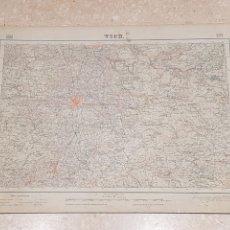 Mapas contemporáneos: MAPA MILITAR VICH 332 DEL INSTITUTO GEOGRÁFICO Y CATASTRAL AMPLIADO 2A. EDICIÓN DEL AÑO 1952. Lote 172893555