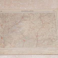Mapas contemporáneos: MAPA MILITAR MONTBLANCH 418 DEL INSTITUTO GEOGRÁFICO CATASTRAL AMPLIADO 2 EDICIÓN DEL AÑO 1950. Lote 172894853