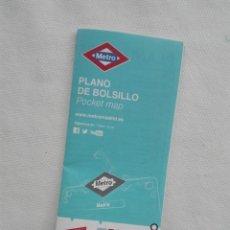 Mapas contemporáneos: PLANO METRO MADRID - PB-INS-00-1403 - FERROCARRIL TREN. Lote 174099572