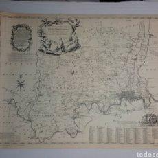 Mapas contemporáneos: ANTIGUO MAPA DE LONDRES Y ALREDEDORES JOHN WARBURTON. Lote 176634468