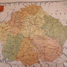 Mapas contemporáneos: MAPA DE COLEGIO, CUENCA, 1935, SANTAMÁNS.. Lote 176774983