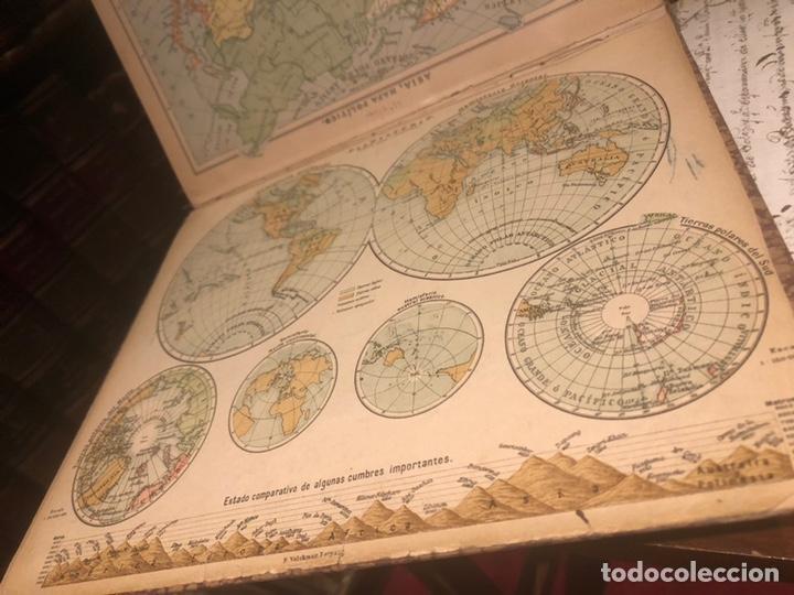 Mapas contemporáneos: Atlas universal para las escuelas primarias secundarias y normales... VOLCKMAR. Con 27 mapas de 34. - Foto 2 - 177417778