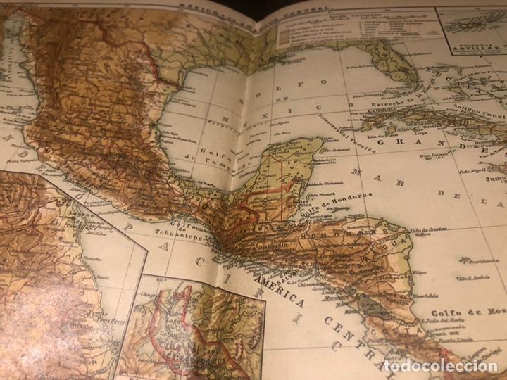 Mapas contemporáneos: Atlas universal para las escuelas primarias secundarias y normales... VOLCKMAR. Con 27 mapas de 34. - Foto 3 - 177417778
