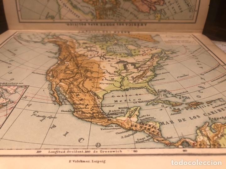 Mapas contemporáneos: Atlas universal para las escuelas primarias secundarias y normales... VOLCKMAR. Con 27 mapas de 34. - Foto 4 - 177417778
