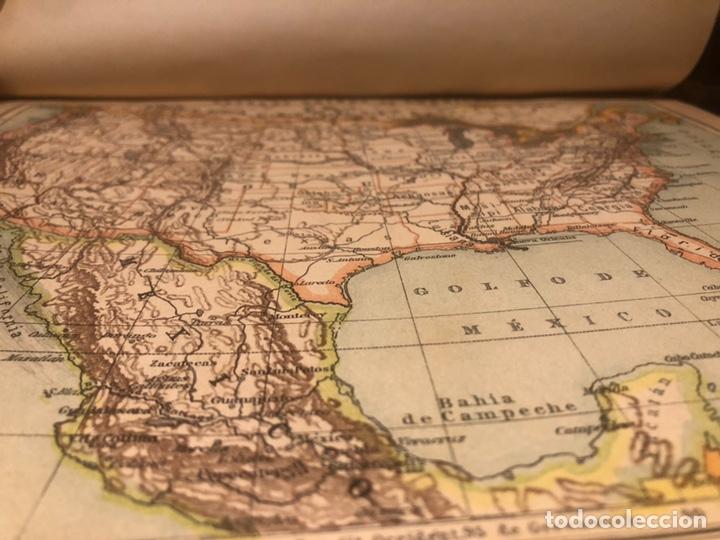 Mapas contemporáneos: Atlas universal para las escuelas primarias secundarias y normales... VOLCKMAR. Con 27 mapas de 34. - Foto 5 - 177417778