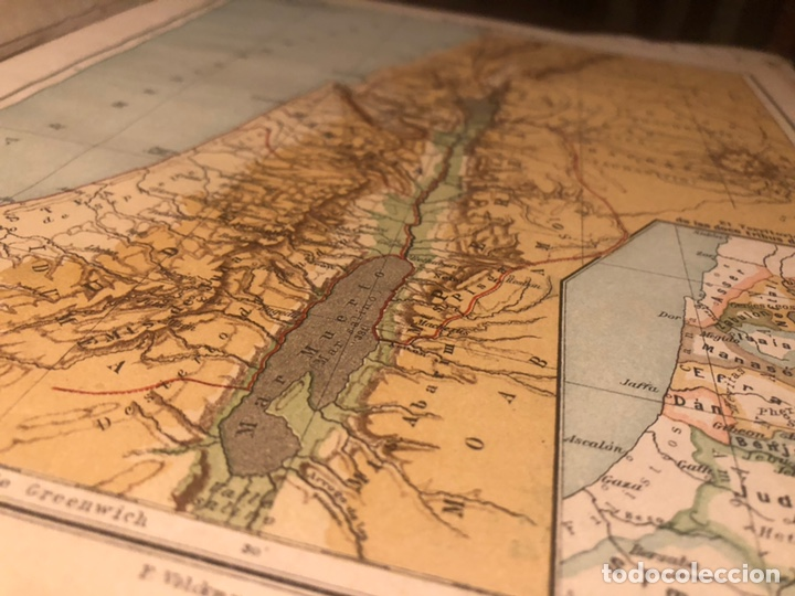 Mapas contemporáneos: Atlas universal para las escuelas primarias secundarias y normales... VOLCKMAR. Con 27 mapas de 34. - Foto 6 - 177417778