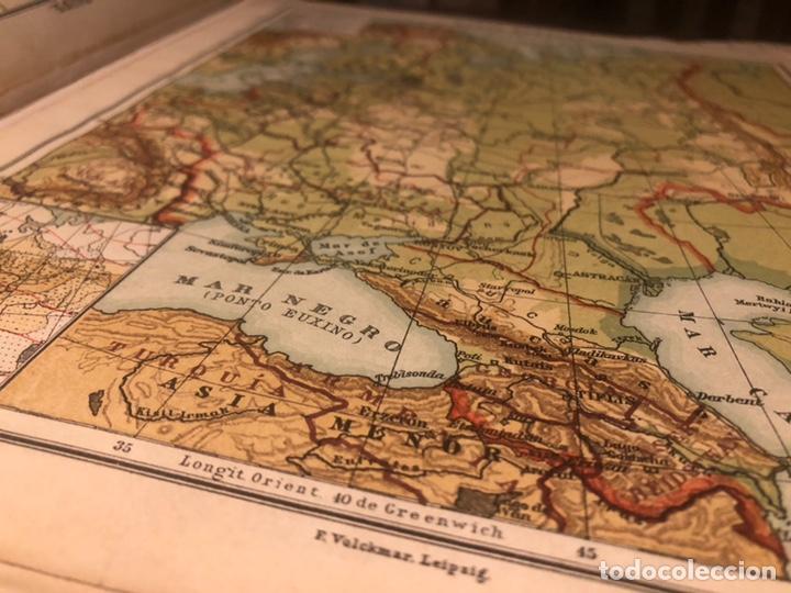 Mapas contemporáneos: Atlas universal para las escuelas primarias secundarias y normales... VOLCKMAR. Con 27 mapas de 34. - Foto 7 - 177417778