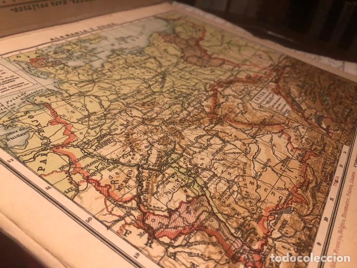 Mapas contemporáneos: Atlas universal para las escuelas primarias secundarias y normales... VOLCKMAR. Con 27 mapas de 34. - Foto 8 - 177417778