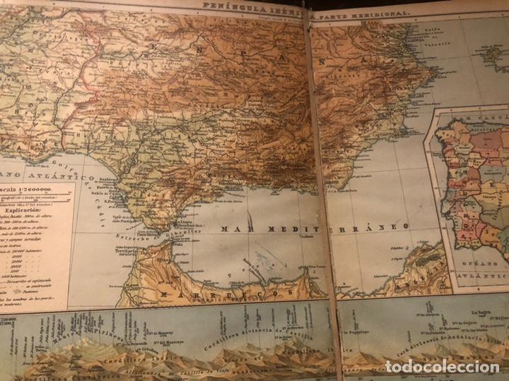 Mapas contemporáneos: Atlas universal para las escuelas primarias secundarias y normales... VOLCKMAR. Con 27 mapas de 34. - Foto 10 - 177417778