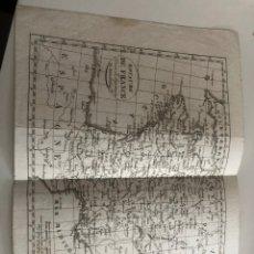 Mapas contemporáneos: ANTIGUO MAPA DE FRANCIA XIX. Lote 177590542