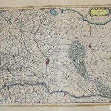 Mapas contemporáneos: MAPA DE UTRECHT EXCUDIT GUILJELMUS BLAEUW EDITADO EN AMSTERDAM. Lote 177898199