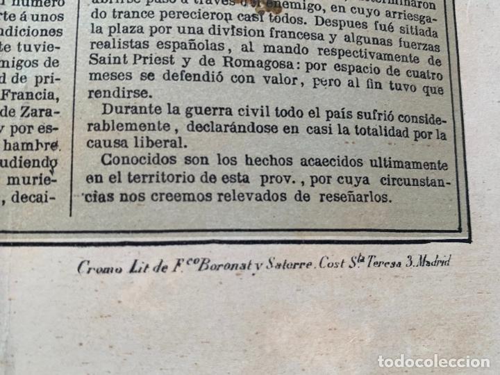 Mapas contemporáneos: Precioso antiguo mapa Prov. Lerida, numerado, Lleida. Reseña geografica e historica.1a edicion. - Foto 4 - 177983882