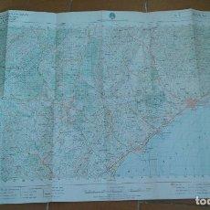 Mapas contemporáneos: MAPA ÁGUILAS, DE LA CARTOGRAFÍA MILITAR. Lote 178158192