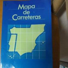 Mapas contemporáneos: MAPA DE CARRETERAS TAPA BLANDA , MAPFRE AUTOMOVILES , DEL AÑO 1990. Lote 178317136