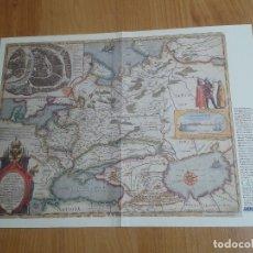 Mapas contemporáneos: MAPA DE RUSIA - HESSELO GERARDO, 1614 - SERVICIO GEOGRÁFICO DE EJÉRCITO - IMPERIO DEL ZAR MIGUEL III. Lote 178373017