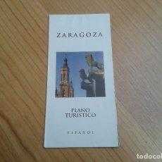 Mapas contemporáneos: MAPA DE ZARAGOZA -- CALLEJERO -- PLANO TURÍSTICO . Lote 178373947