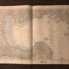 Mapas contemporáneos: MAPA. JAPÓN. NIKAI. MAR INTERIOR, CARTOGRAFÍA SUO NADA NO.6154, MEDIDAS: 99 X 66 CM., (A.1959). Lote 178604141