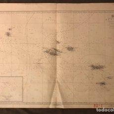Mapas contemporáneos: MAPA. AZORES. NORTH ATLÁNTIC OCEAN CARTOGRAFÍA SUO NADA NO.5384 MEDIDAS: 107 X 76 CM., (A.1956). Lote 178610943