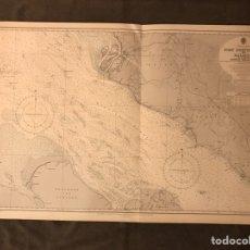 Mapas contemporáneos: MAPA. MALACCA STRAIT. ESTRECHO DE MALACCA. NO.3946, MEDIDAS: 112 X 71 CM., (A.1957). Lote 178612383