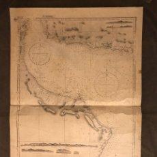Mapas contemporáneos: MAPA. GOLFO DE OMÁN, , CARTOGRAFÍA MASIRA TO RUUS AL JIBAL NO.3177, MEDIDAS: 107 X 73 CM., (A.1956). Lote 178613408