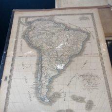 Mapas contemporáneos: MAPA. AMÉRICA DEL SUR.. Lote 178669226