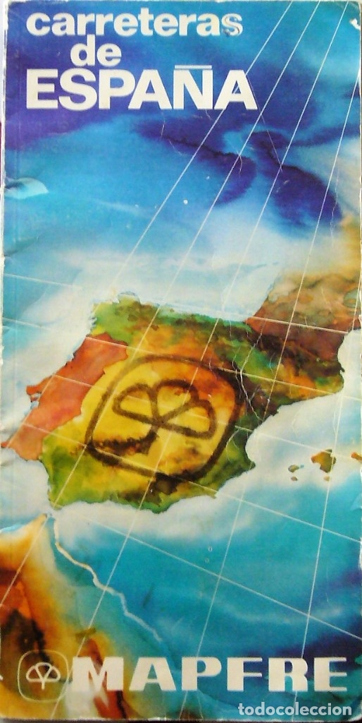 MAPA DE CARRETERAS DE ESPAÑA - MAPFRE 1979 (Coleccionismo - Mapas - Mapas actuales (desde siglo XIX))