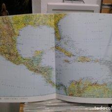 Cartes géographiques contemporaines: LMV - LÁMINA, MAPA DE AMÉRICA CENTRAL Y ANTILLAS, ESCALA 1:10.000.000, 48X33 CM. Lote 178771845