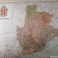 Mapas contemporáneos: MAPA DE BARCELONA AÑO 1905 50X37 CMS. Lote 178950646