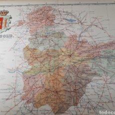 Mapas contemporáneos: MAPA DE VALLADOLID AÑO 1905 50X37 CMS. Lote 178950700