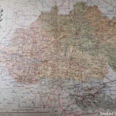 Mapas contemporáneos: MAPA DE SORIA AÑO 1905 50X37 CMS. Lote 178950975