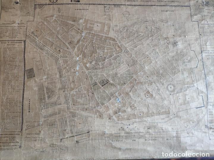 Mapas contemporáneos: PLANO DE CARTAGENA SUS ENSANCHES Y MEDIDAS PRINCIPIOS SIGLO XX - 1000-087 - Foto 15 - 61551835