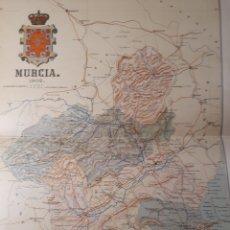 Mapas contemporáneos: MAPA DE MURCIA AÑO 1902 45X35 CMS.. Lote 179020163