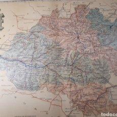 Mapas contemporáneos: MAPA DE SORIA AÑO 1901 45X35 CMS. Lote 179020200