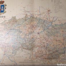 Mapas contemporáneos: MAPA DE TOLEDO AÑO 1902 45X35 CMS.. Lote 179020253