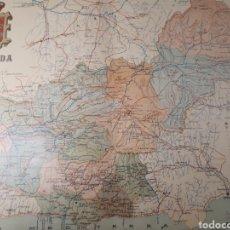 Mapas contemporáneos: MAPA DE GRANADA AÑO 1902 45X35 CMS. Lote 179020522