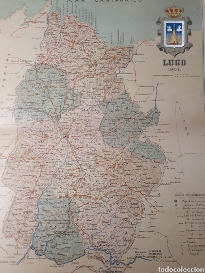 Mapa De Lugo Ano 1901 45x35 Cms Buy Contemporary Maps At