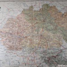 Mapas contemporáneos: MAPA DE SORIA AÑO 1905 45X35 CMS. Lote 179021501