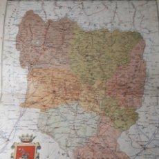 Mapas contemporáneos: MAPA DE HUESCA AÑO 1905 45X35 CMS. Lote 179021577