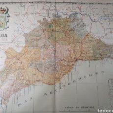 Mapas contemporáneos: MAPA DE MALAGA AÑO 1905 45X35 CMS.. Lote 179022438
